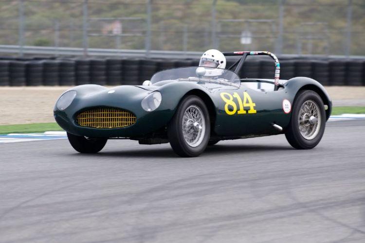1955 Elva Mk.1 driven by Kevin Adair.