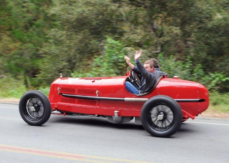 1933 Alfa Romeo 8C 2300 Monza - Peter Livanos
