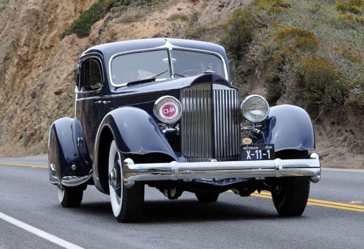 1934 Packard 1106 Sport Coupe, Ralph Marano