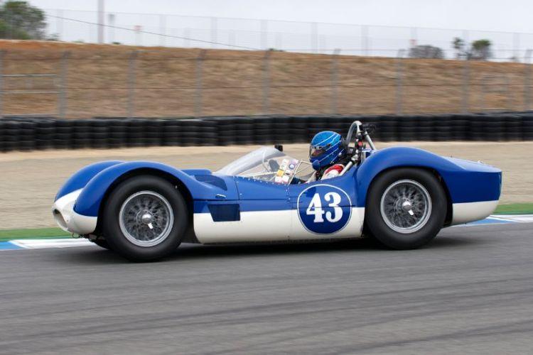 1959 Maserati Tipo 60 Birdcage driven by Rob Walton.