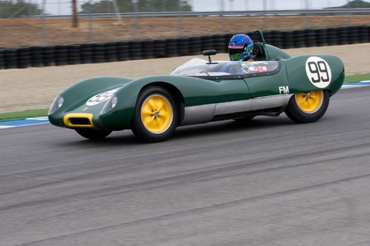 1959 Lotus 17 driven by Thor Johnson.