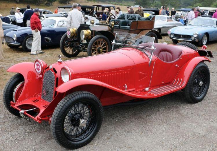 1931 Afla Romeo 8C 2300 Zagato Spider, Jonathan Feiber