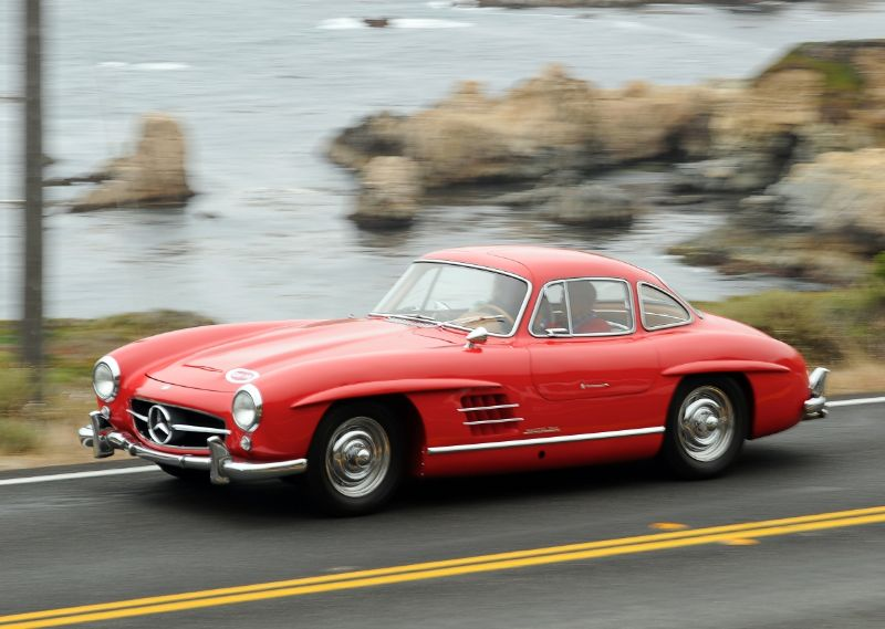 Mercedes-Benz 300SL Gullwing driven by Sir Stirling Moss