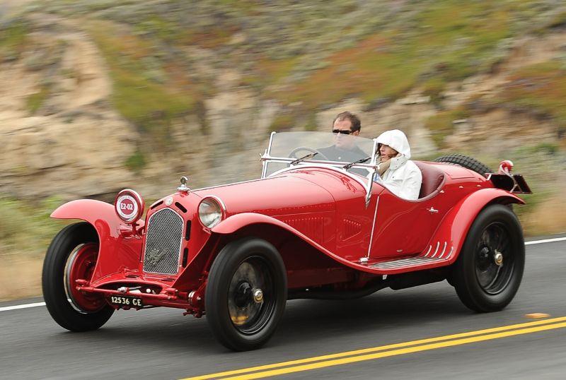 1931 Alfa Romeo 8C 2300 Zagato Spider, Jonathan Feiber