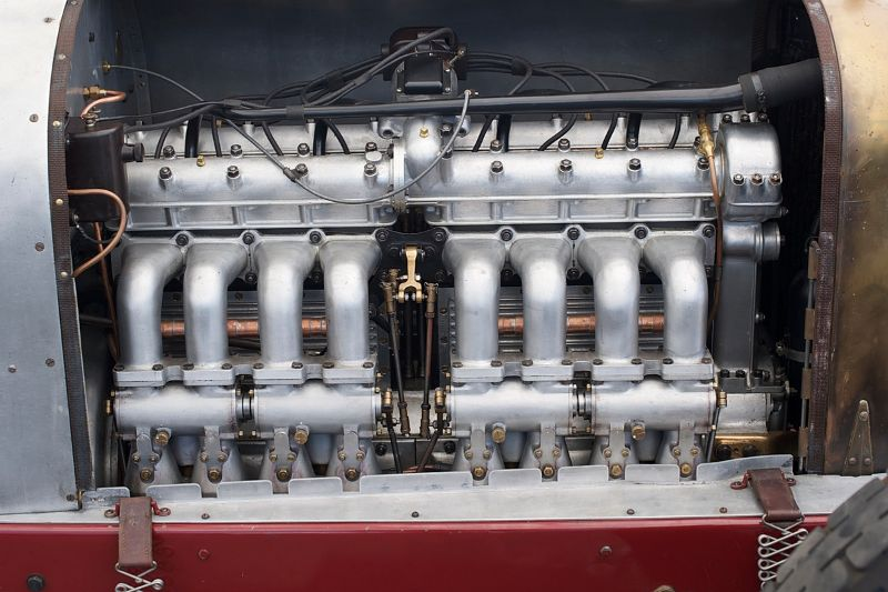 1919 Miller TNT Special engine.