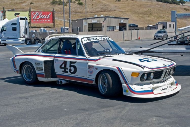 1974 BMW CSL Batmobile.