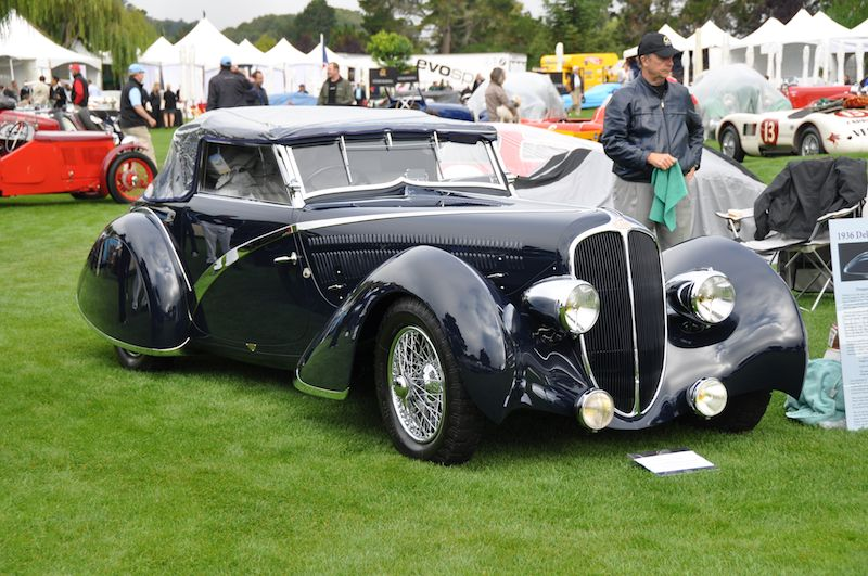 1936 Delahaye 135 Competition Disappearing Top Convertible - Ken and Ann Smith