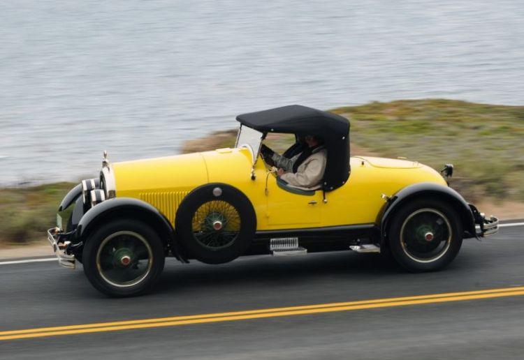 1924 Kissel 6-55 'Gold Bug' Speedster, Lynn and Jeanne Kissel