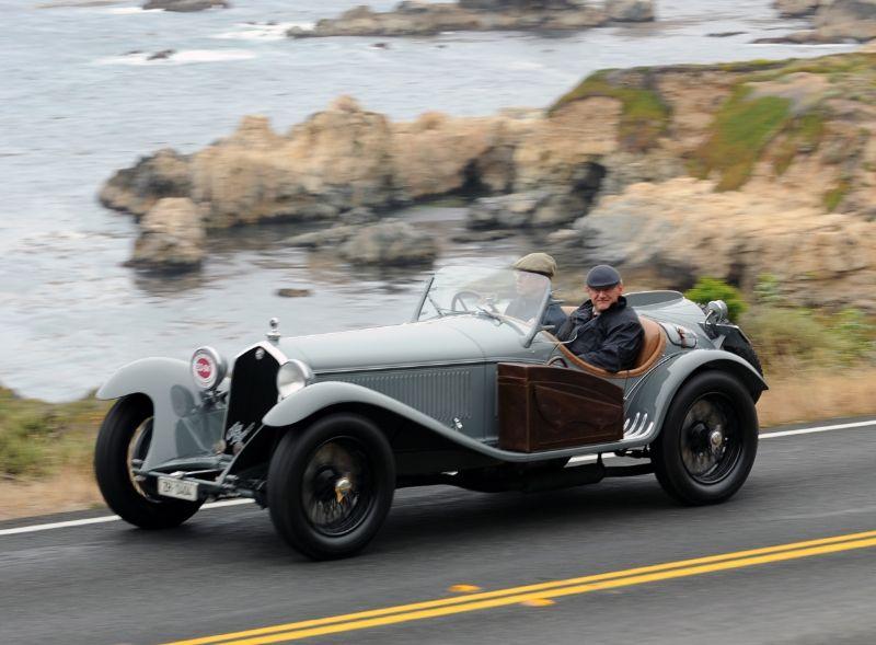 1933 Alfa Romeo 8C 2300 Touring Short Chassis Spider, Lukas Huni