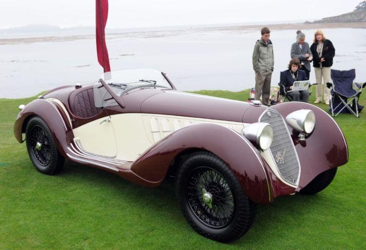 1936 Alfa Romeo 2900A Spider, Simon Moore