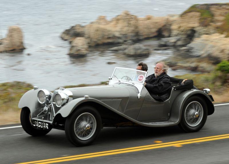 1938 Jaguar SS100 Roadster, James Taylor