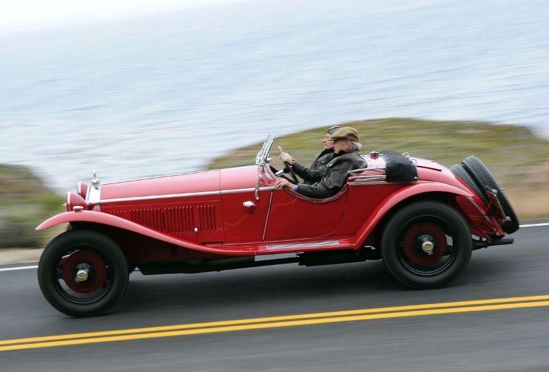 1931 Alfa Romeo 8C 2300 Zagato Spider - Jonathan Feiber