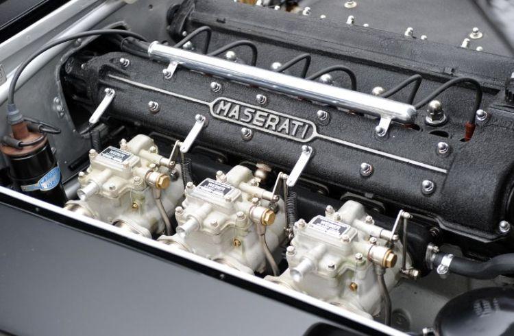 Triple Webers on Maserati