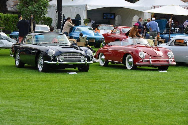 1962 Aston Martin DB4 Mark IV and 1958 Porsche Speedster