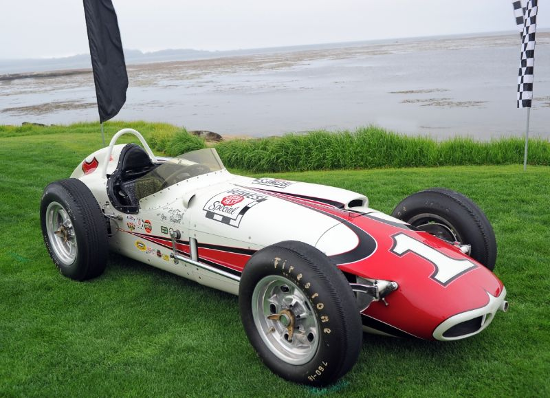 1961 Watson 'Bowes Seal Fast Special', Indianapolis Hall of Fame Museum