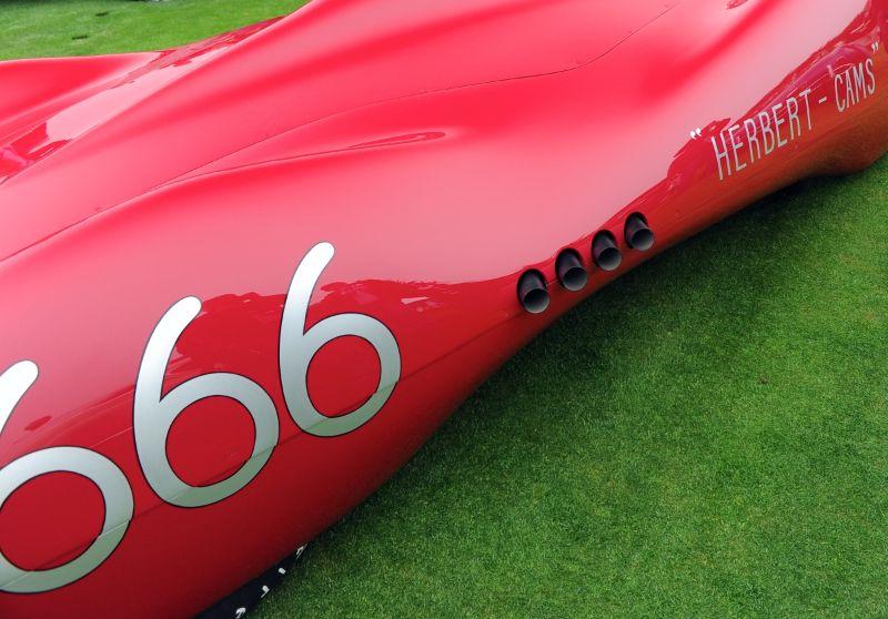 1952 Chet Herbert 'Beast III' Streamliner, Mark and Newie Brinker