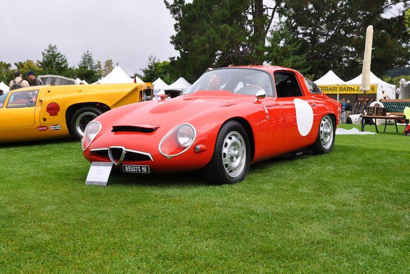 1963 Alfa Romeo TZ-1 Competition - Edmond Blais