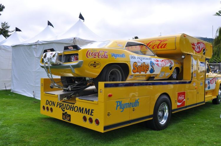 Don Pruhomme Trailer and Plymouth Hemi Cude
