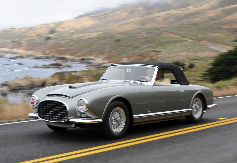 1953 Ferrari 342 America Pinin Farina Cabriolet, Jack Thomas
