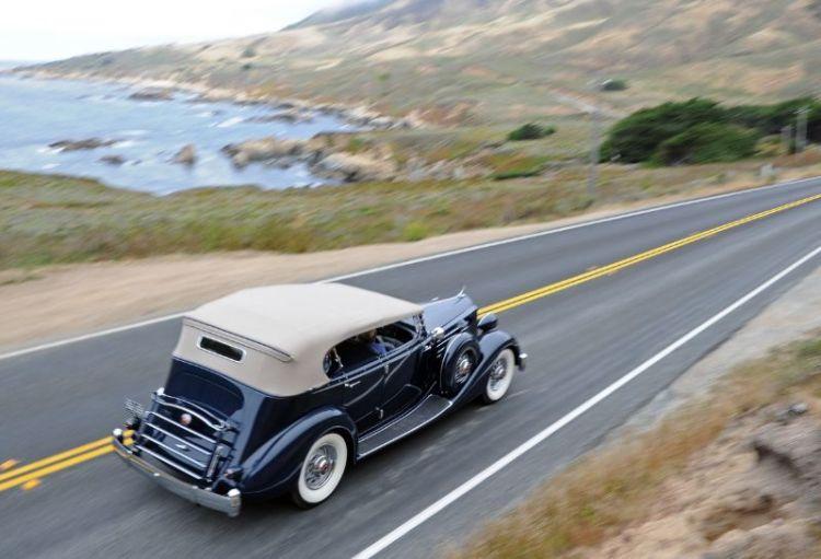 1936 Packard 1107 Phaeton, Jay and Chris Moore