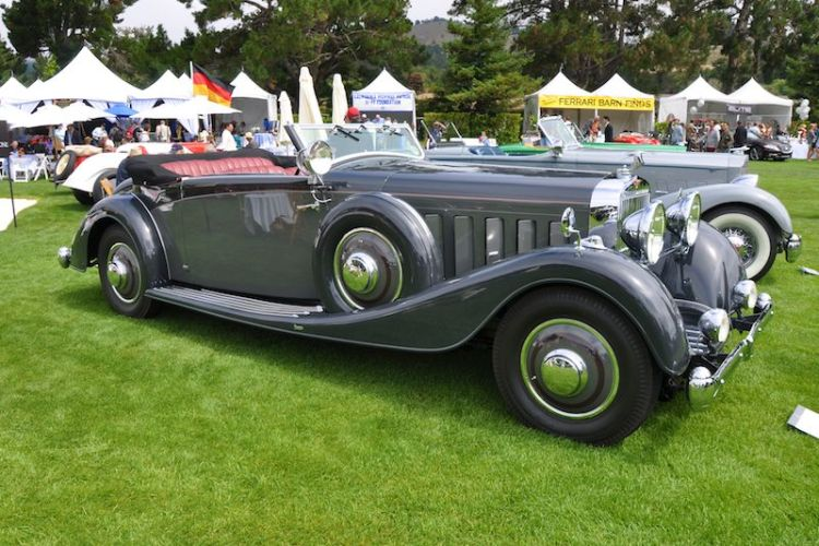 1934 Hispano - Sir Michael Kadoorie