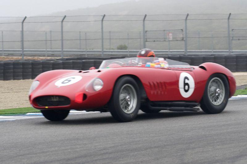 1957 Maserati 300S driven by Jon Shirley.
