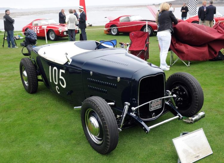 1932 Crawford-Stoner Ford Roadster, Chuck Longley