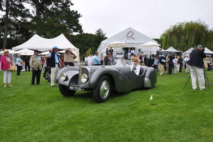 Reunion to Quail Run Featured Bugattis