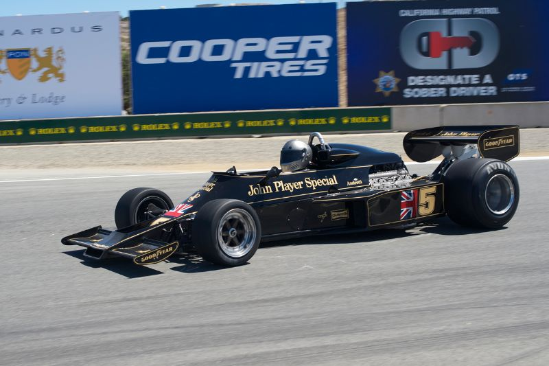 Chris Locke's 1976 Lotus 77.