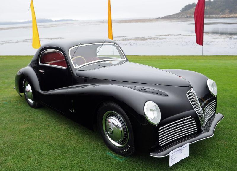 1942 Alfa Romeo 6C 2500 SS Bertone Coupe, Corrado Lopresto