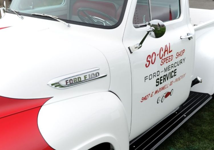 So-Cal Speed Shop Ford F100 Support Truck