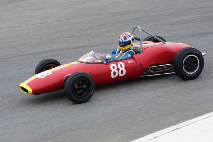 First place in group 6A for Jeremy Barnes and his 1962 Lotus 22.