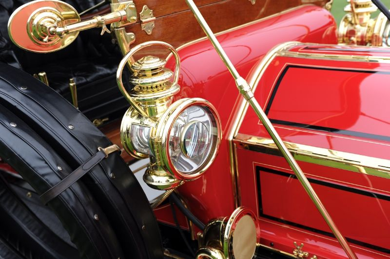 1909 Pierce-Arrow 48 hp 7 Passenger Touring, Lynette and Vaughn Vartanian