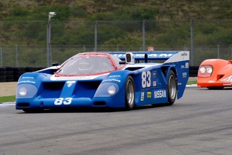Ed Swart in his 1985 Nissan GTP.