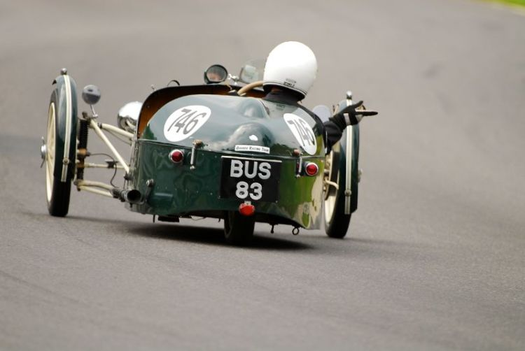 1938 Morgan F Type Trike of Chris Towner.