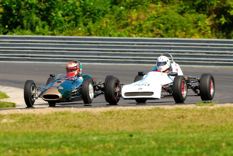 1962 Brabham BT-2FJ- Bob Goelder.- #881- 1978 Crossle 32F-  William Hollingsworth.