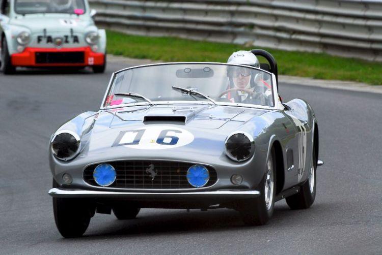 1959 Ferrari 250GT Spyde r- Martin Gruss.
