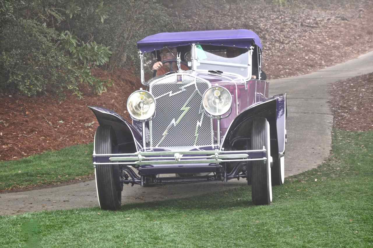 1927 Isotta Fraschini 8A Boattail Tourer