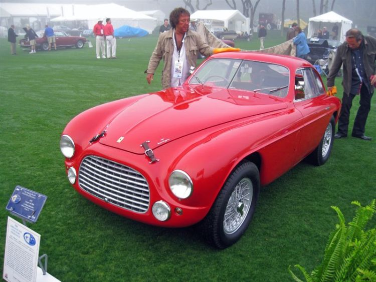 1950 Ferrari 166MM Le Mans Berlinetta
