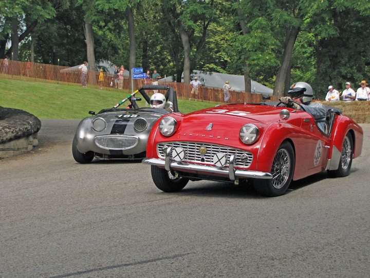Triumph TR3A and Austin-Healey Bugeye Sprite