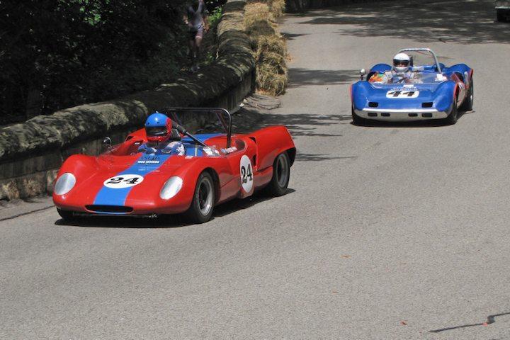 1965 Moodini Sports Racer and 1963 Elva Mk VII