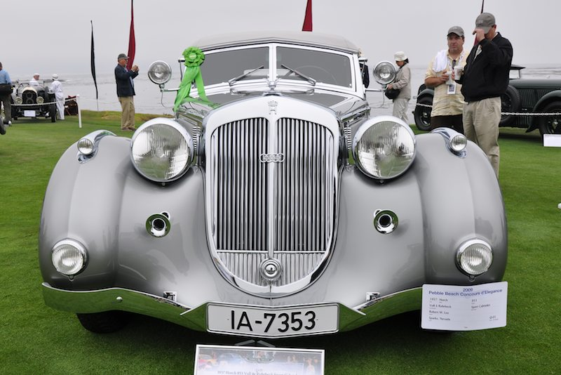 Best of Show 1937 Horch 853 Voll & Ruhrbeck Sport Cabriolet