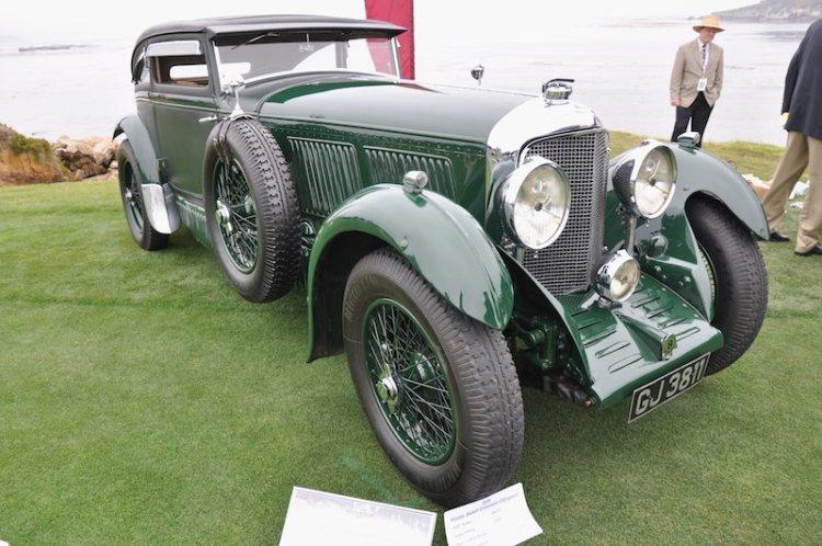 1930 Bentley Speed Six Gurney Nutting Coupé