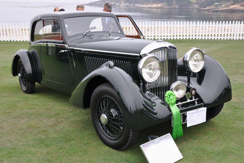 1935 Bentley 3½ Litre Bertelli Coupé