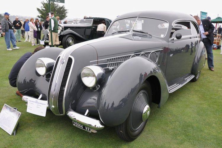 1937 Alfa Romeo 2300 Pescara Berlinetta