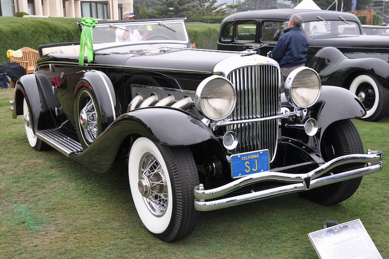 1936 Duesenberg JN Rollston Convertible Coupe