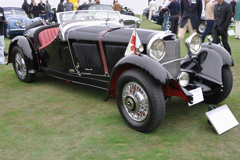 1933 Mercedes-Benz 380K Erdmann & Rossi Special Roadster