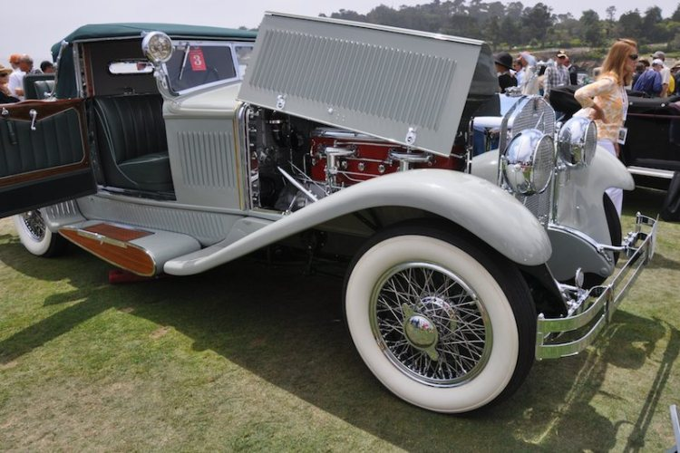 1930 Isotta Fraschini Tipo 8A SS Castagna Cabriolet