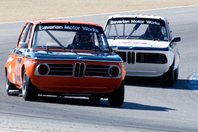 Bavarian Motor Works team 'hot' BMW 2002 T/A.