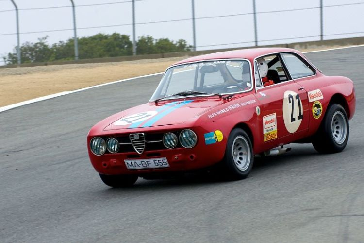 P. C. Nitoglia in his 1969 Alfa Romeo GT AM.